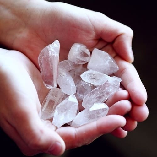 Positive and negative energy from crystals - Pagan Council