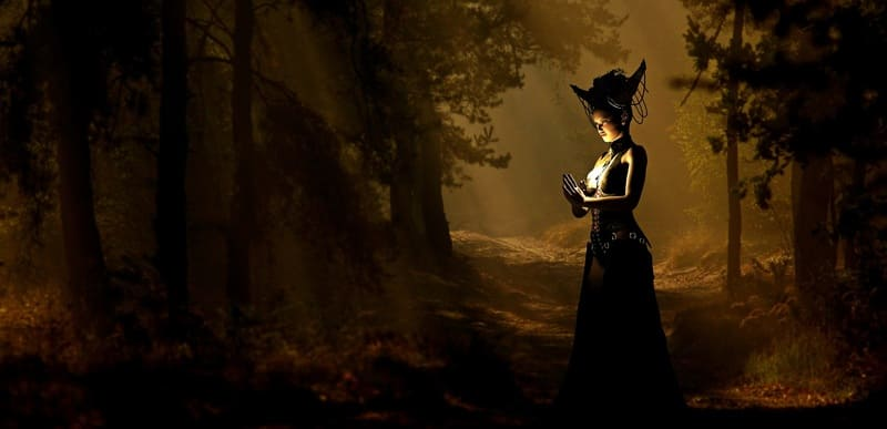Witchcraft and Nature go together